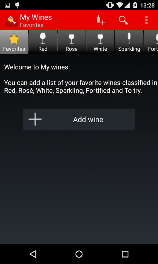 My Wines- screenshot