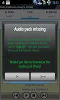 Screenshot of Yasin Audio (Ahmed Al-Ajamy)