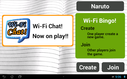 Wi-Fi Bingo 多人賓果遊戲