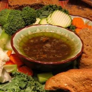 Italian Garlic, Anchovy And Sardine Dip
