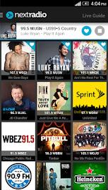 NextRadio - Free Live FM Radio Screenshot 1