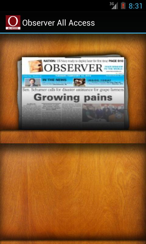 Observer All Access - screenshot