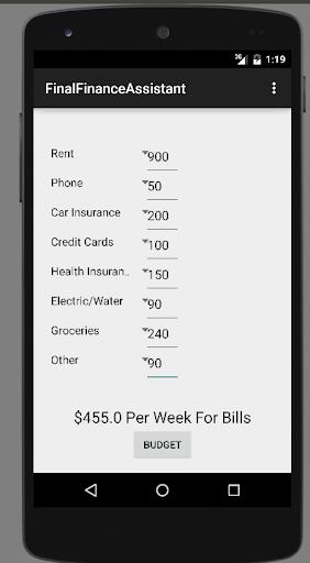 Finance Calculator