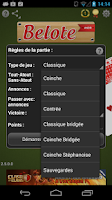 Screenshot of Belote Andr