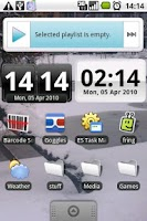 Screenshot of DigiClock Widget