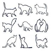 猫のしっぽウィジェット