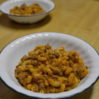 Creamy Beef and Macaroni.