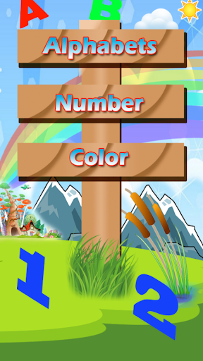 Kid Alphabets Numbers
