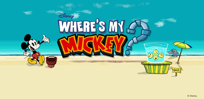 Android  Download Mediafire Full Where's My Mickey? APK v1.2 Unlocked Free