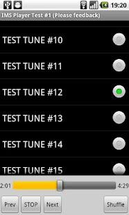 IMS Player 테스트