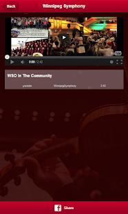 Winnipeg Symphony Orchestra - screenshot thumbnail