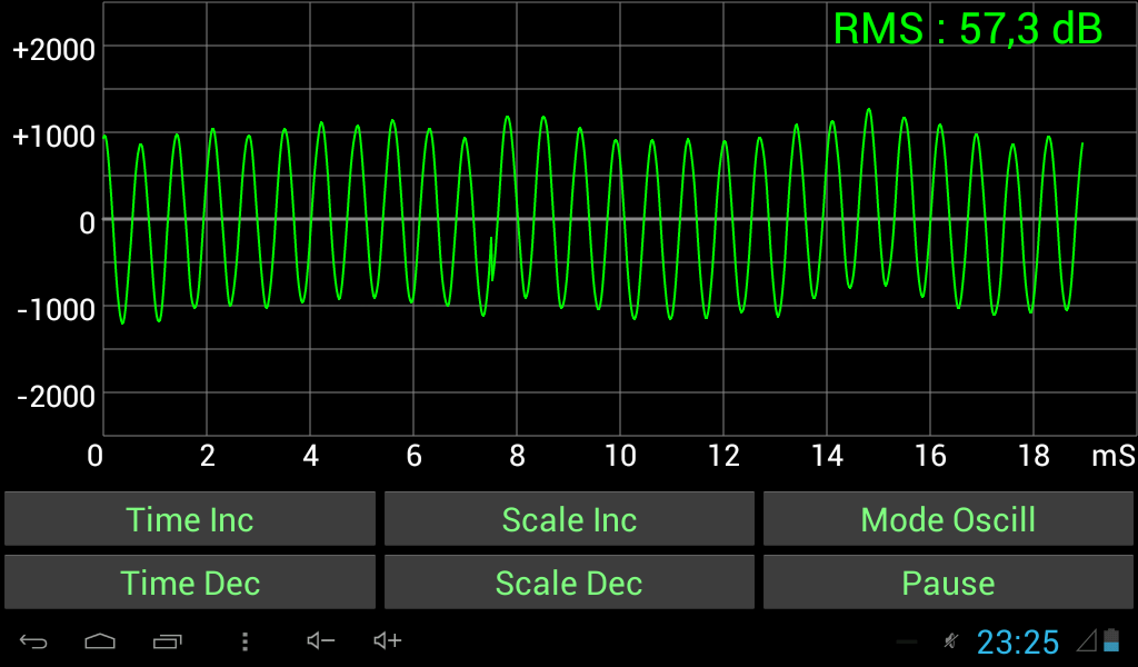 Oscilloscope Image Of B : Sound oscilloscope android apps on google play