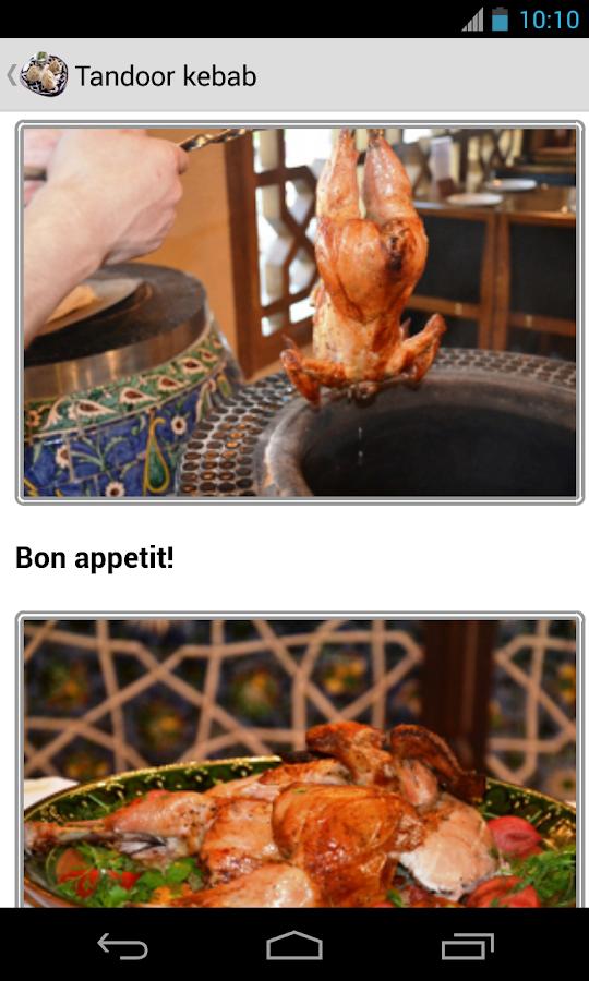 Uzbek Cuisine - screenshot