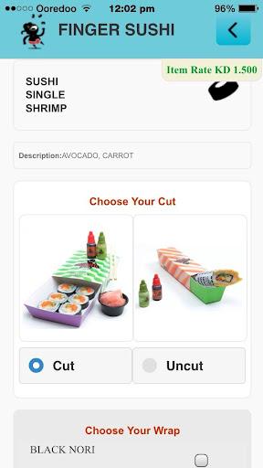 Finger Sushi