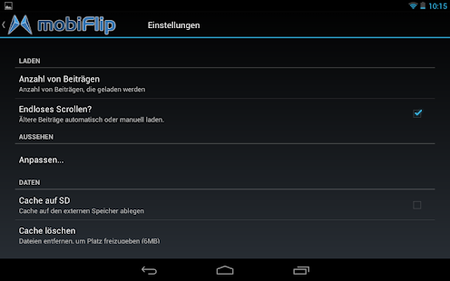 mobiFlip.de- screenshot thumbnail