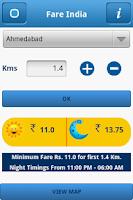 Screenshot of FareIndia