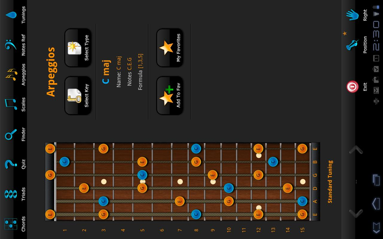 Guitarist's Reference HD - screenshot
