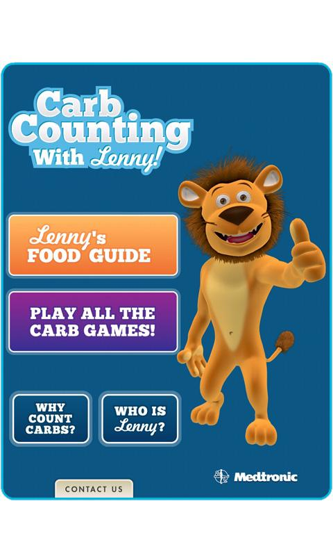 Carb Counting with Lenny- screenshot