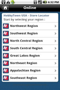 Hobby Town USA Store Locator - screenshot thumbnail