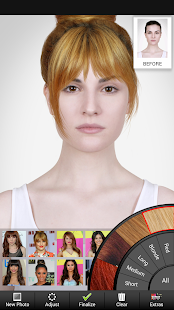 Brilliant Celebrity Hairstyle Salon Android Apps On Google Play Short Hairstyles For Black Women Fulllsitofus