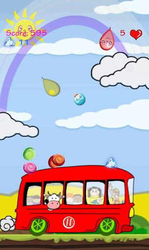 糖果和氣球 - 巴士遊戲