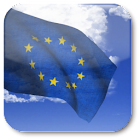 3D EU Flag Live Wallpaper + icon