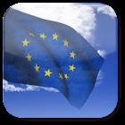 3D EU Flag Live Wallpaper + icon