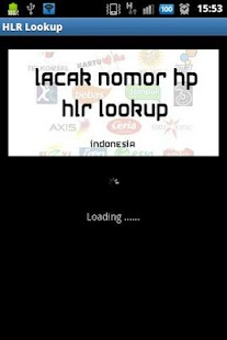 Lacak Nomor Telepon HLR Lookup- screenshot thumbnail