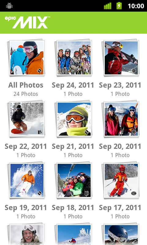 EpicMix - screenshot