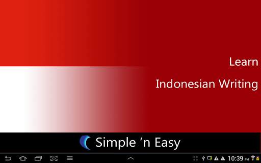 Learn Indonesian Writing