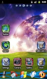 Go Launcher EX Theme Bright