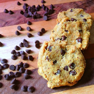 Coconut Flour Chocolate Chip Cookies - Gluten and Dairy Free.