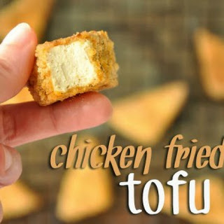 BAKED! Chicken Fried Tofu Recipe