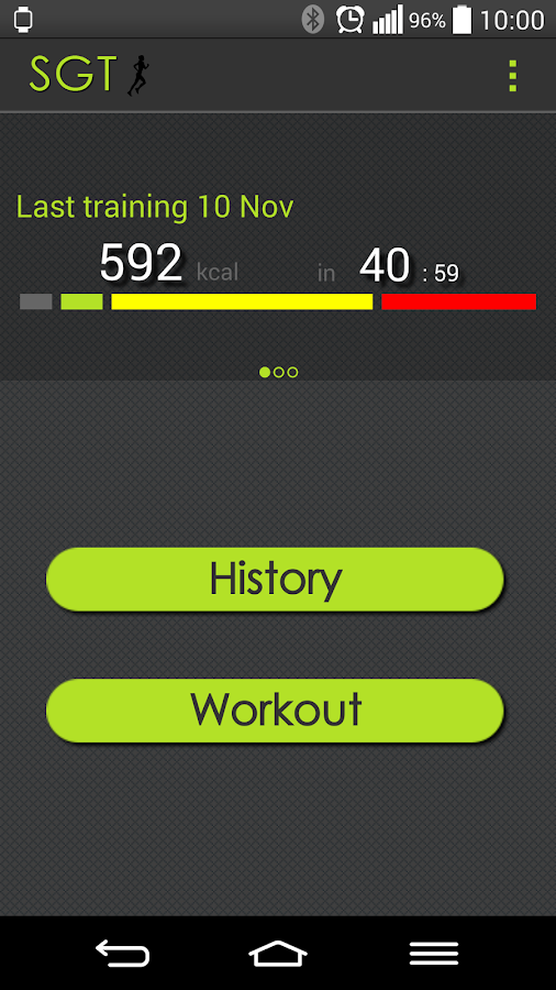 Heart Rate - Sport Gear + Wear- screenshot
