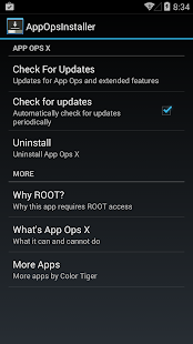 App Ops 4.3 / 4.4 KitKat - screenshot thumbnail