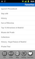 Screenshot of Madrid & Central Spain - Guide