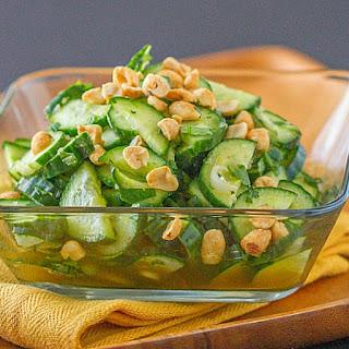 Thai Cucumber Salad.