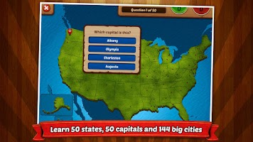 Screenshot of GeoFlight USA: Geography
