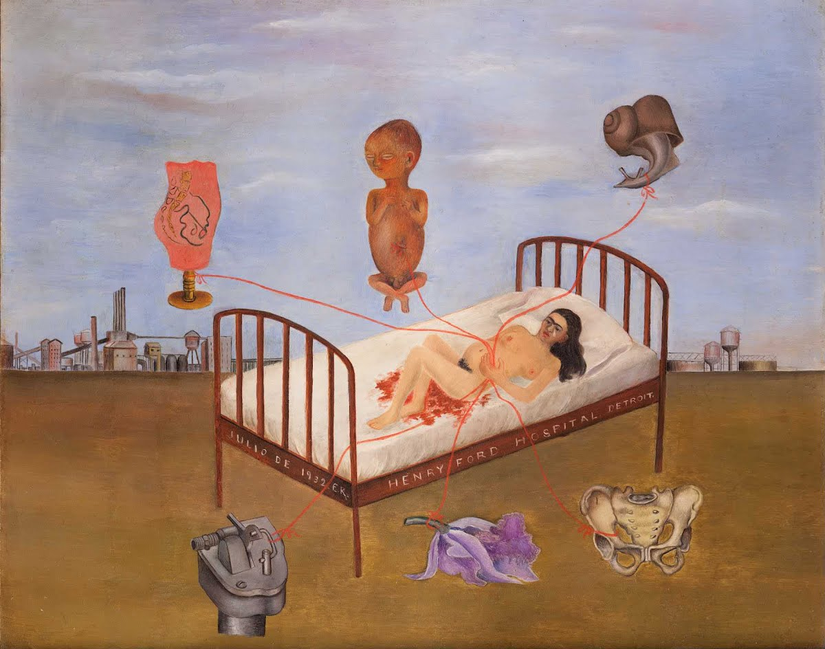 Henry Ford Hospital - Frida Kahlo — Google Arts & Culture