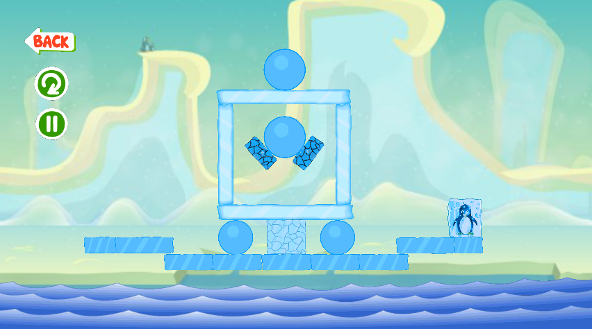 Ice Cube Penguin- screenshot