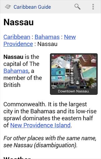Caribbean Travel Guide Offline