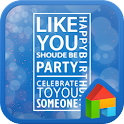 Party dodol launcher theme icon