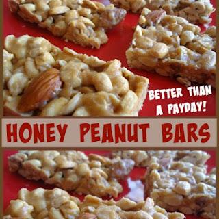 Honey Peanut Bars