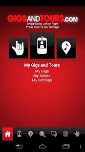 Gigs and Tours - screenshot thumbnail