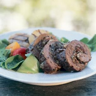 Stuffed Flank Steak.