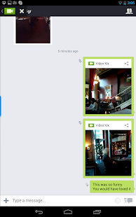 Video Kik - screenshot thumbnail