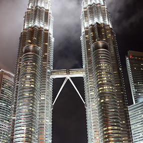 Towers in the clouds by Gareth Taylor - Buildings & Architecture Public & Historical