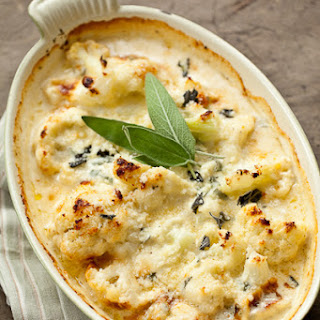 Cauliflower Mascarpone Gratin.
