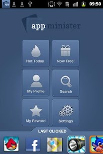 Appminister - screenshot thumbnail