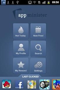 Appminister - screenshot thumbnail